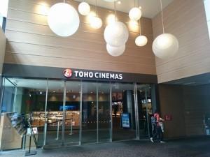 TOHOシネマズ新宿は新しくて綺麗♪