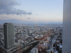 神戸市街地の景色